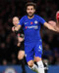 cesc fabregas reacts to man utd clash: chelsea must win every game