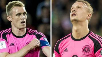 scotland v netherlands: darren fletcher and leigh griffiths withdraw from squad