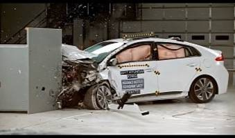 2017 hyundai ioniq hybrid crashes its way to earn top safety pick+ rating
