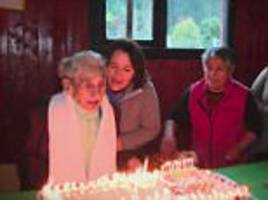 meet the 'world's oldest living person' from chile