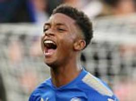 leicester ace demarai gray wants place in england squad