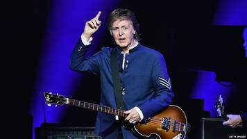 sir paul mccartney: president trump's resistance to climate change is madness