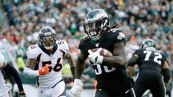 NFL: Jay Ajayi's first Philadelphia Eagles touchdown leads plays of the week