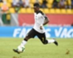atsu arrives for ghana-egypt showdown despite injury concerns