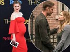 alexandra breckenridge was afraid to reveal her pregnancy