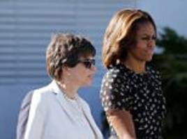 michelle obama and valerie jarrett party in las vegas