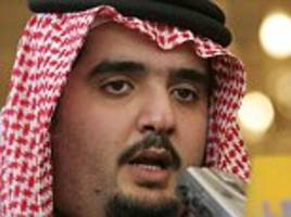 saudi prince 'killed in firefight while resisting arrest'