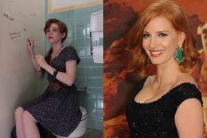 jessica chastain says she 'would kick any clown's a–' if she was in 'it' sequel