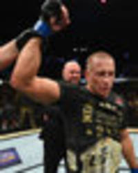 gsp looked great - dana white gushes over st-pierre's ufc 217 win over bisping