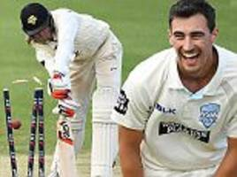 ashes: mitchell starc makes history with two hat-tricks