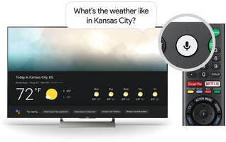 Google Assistant is ready to help on your Sony TV