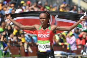 athletics: kenya's sumgong banned for four years for doping offense