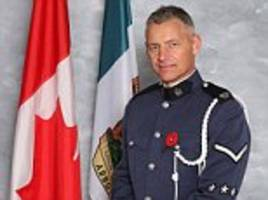british police officer killed in canada during an arrest