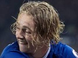 everton tom davies withdraws from england under 21 squad