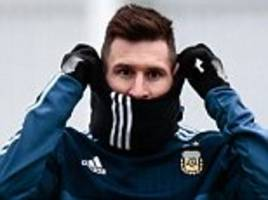 lionel messi angered by claims he runs argentina side