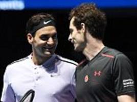 Roger Federer: Andy Murray shouldn't rush back too quickly