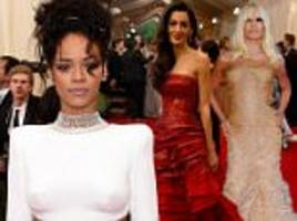 amal clooney, rihanna and donatella to host 2018 met gala