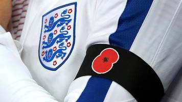 England & Germany confirm poppies tribute for Wembley friendly