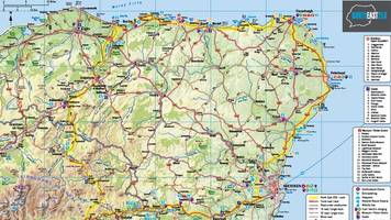 north east 250 tourism drive launched