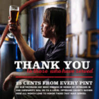 CraftWorks Restaurants & Breweries, Inc., the Nation's Leading Operator and Franchisor of Brewery, Craft Beer and Casual Dining Restaurants, Honors Our Military Heroes This Veterans Day.