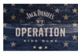 "Jack Daniel's and the Armed Services YMCA Kick off Seventh Year of ""Operation Ride Home"""