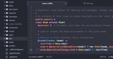 Atom 1.22 Hackable Text Editor Introduces Performance and Usability Improvements