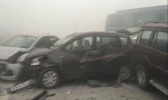 18-car pile-up in india caused by air pollution is all kinds of scary