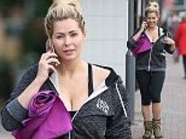 ex-glamour model nicola mclean is spotted out and about