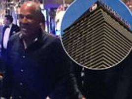 oj simpson 'was kicked out of vegas hotel for being drunk'