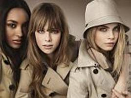 burberry to shut stores after shares tumble 10%