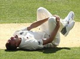 England suffer Jake Ball injury scare in Ashes warm-up