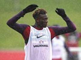 england to hand tammy abraham shock debut against germany