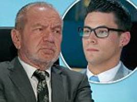 Lord Sugar failed to fire Andrew Brady on The Apprentice