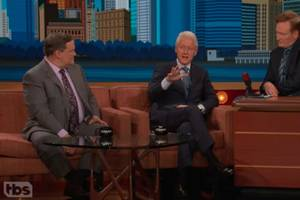 Bill Clinton on 'Conan': In the Trump Era, 'It's a Good Thing' Country is So Diverse (Video)