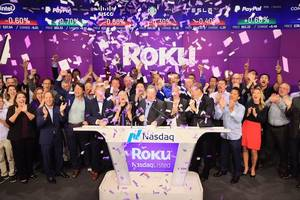 roku stock leaps 47 percent on massive jump in streaming hours, new customers