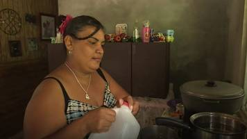 Hurricane survivors still without electricity or water