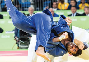 israel's sasson lands in morocco for judo marquee