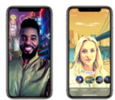 Clips Introduces Selfie Scenes for Immersive, 360-Degree Selfies on iPhone X