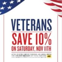 Food Lion Offers 10 Percent Discount for Active and Retired Military Personnel on Veterans Day