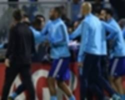 evra banned for rest of the season by uefa after marseille fan kick