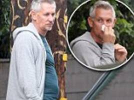 gary lineker steps out for first since since paradise leak
