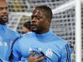 patrice evra banned from uefa competition until june 2018