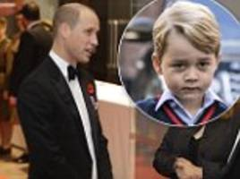 Prince William says George was 'envious' he drove digger