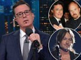 stephen colbert addresses louis ck and mocks keith urban