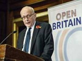 Article 50 architect Lord Kerr claims Brexit is reversible