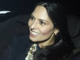 priti patel: foreign office 'leaked details of trip'