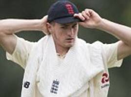 George Garton called up as cover for Jake Ball by England