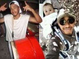 Lewis Hamilton scales Huayna Picchu with godson and mates