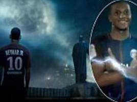 PSG stars including Neymar join forces with Justice League
