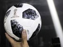 World Cup 2018 football launch: Can you guess the ball?